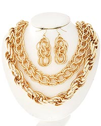 Doubled Chunky Chain-