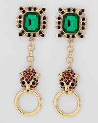 Panther Statement Earrings-