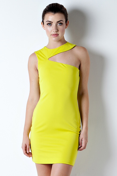 Dare to Bare One Shoulder Dress-