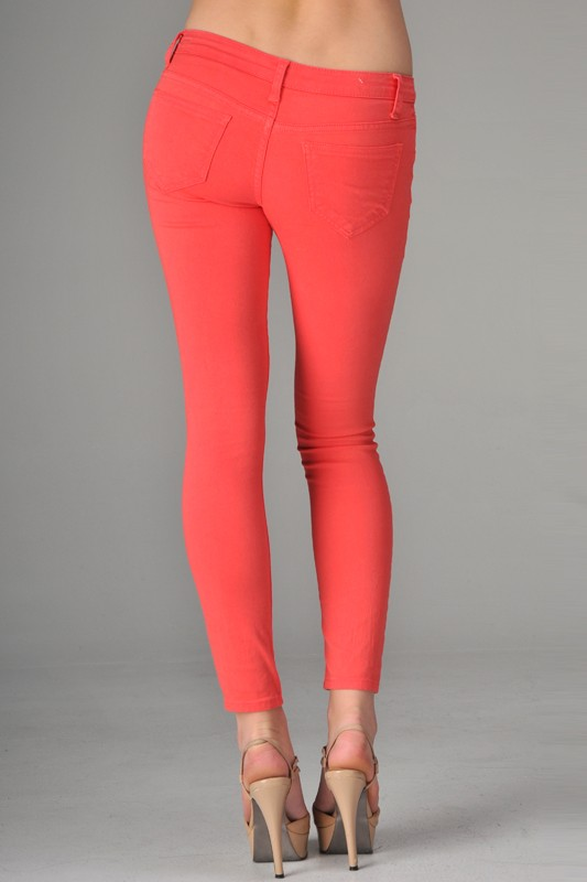 Bold Colored Skinny Jeans-