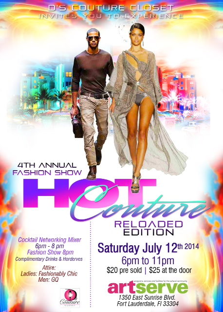 """Hot Couture"" 4th Annual Fashion Show and Cocktail Networking Mixer-"