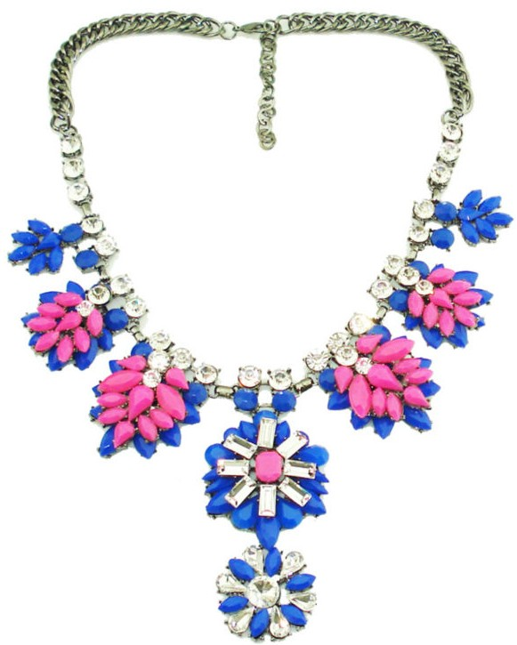 Paparazzi Neon Pink Couture Necklace-