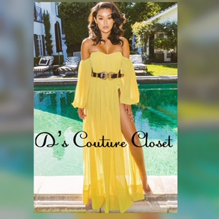 Caribbean Queen Maxi Dress-