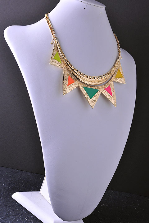 Tribal Colors Necklace-