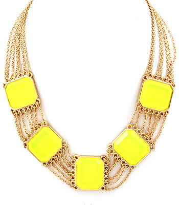 Neon Necklace-