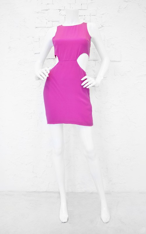 Fit For The Fabulous Cut Out Dress-