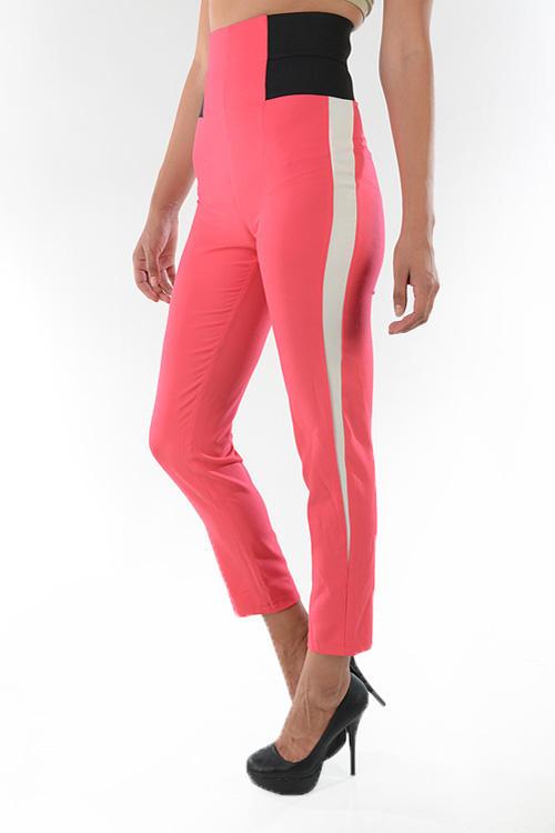 Sassy Racer Striped Pants-
