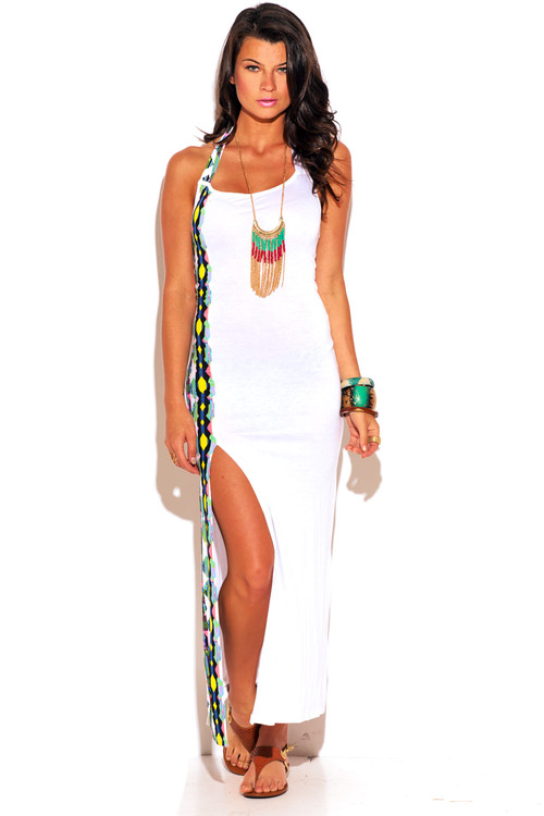 Summer White Hot Maxi-
