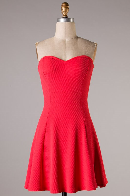 A Sweethearts Flare Dress-