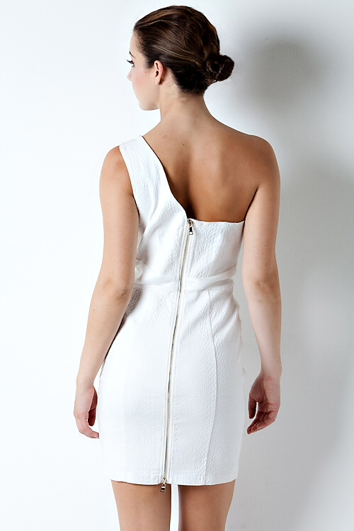 Hot White Party  Dress-