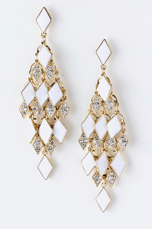 Color Me Chandilier Earrings-